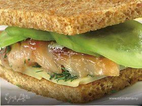 Сэндвич со скумбрией