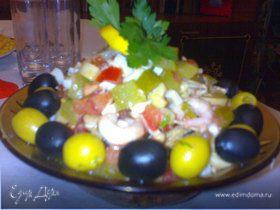 Салат из морепродуктов_
