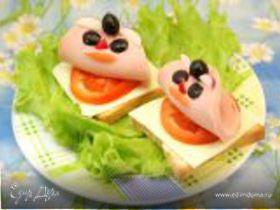 "Бутерброды ""Кораблики"""