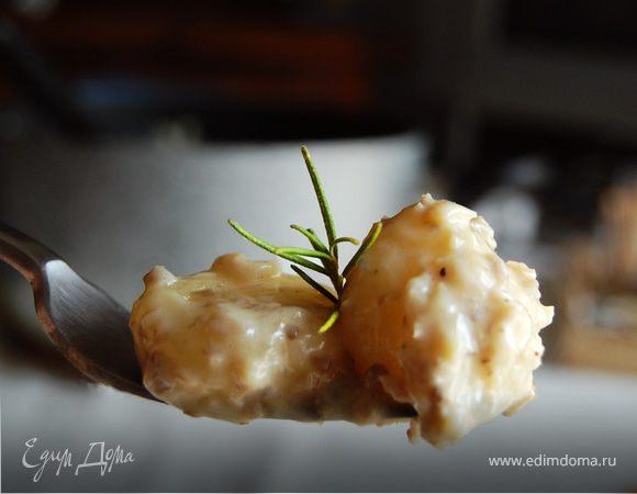 Ньокки с грибным соусом