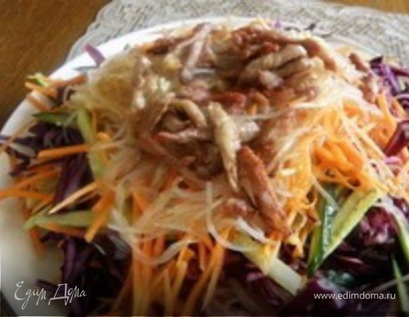 Салатик по пекинскому рецепту