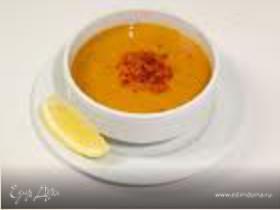 Суп из красной чечевицы (Mercimek çorbası)