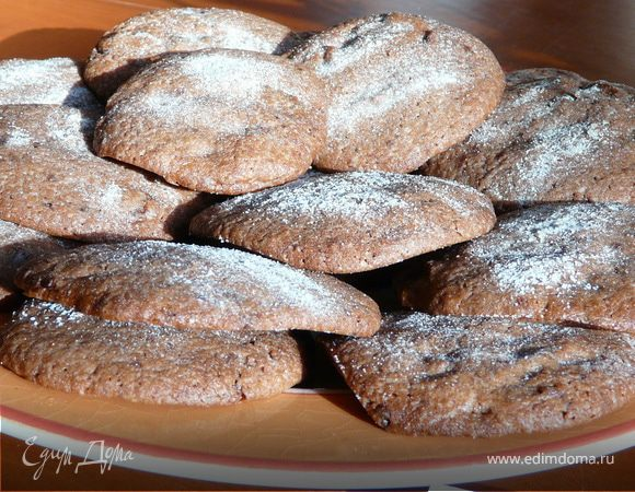 Шоколадное печенье.