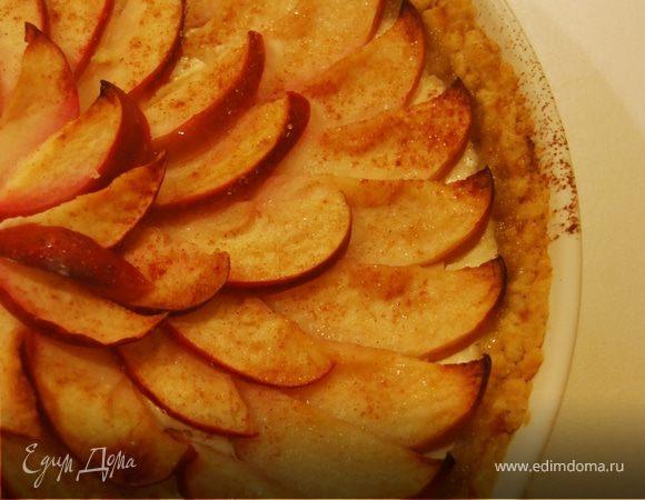Яблочно-творожный торт.