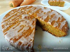Пряный морковный пирог