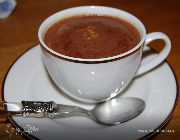 Горячий вечерний шоколад