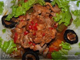 Свиная вырезка в азиатском стиле (Asian Style Pork Tenderloin)
