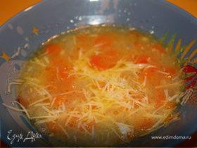 Супчик из моркови и лука-порея