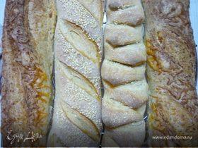 Французский багет (базисный рецепт)