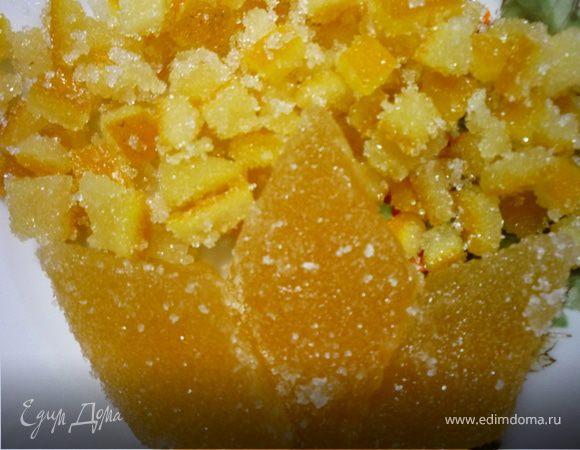 Апельсиновые цукаты и мармелад (повидло)