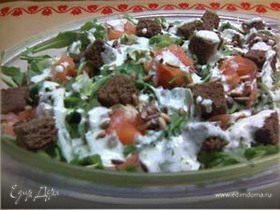Салат с семгой от Валентины