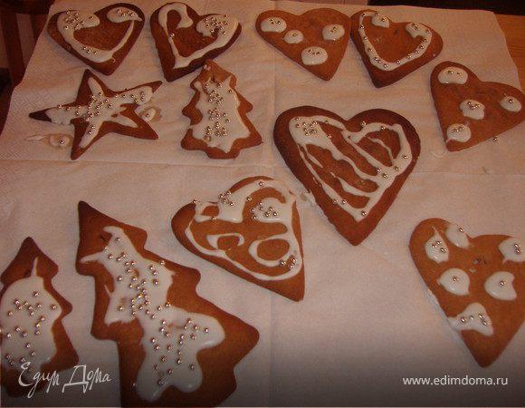 Традиционное шведское рождественское печенье