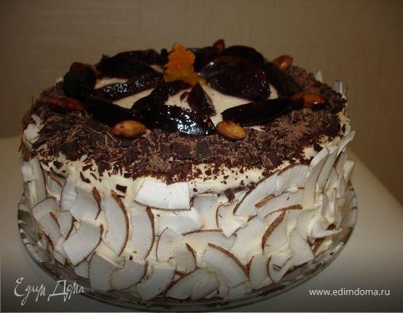 """Торт """"Сметанник"""" от Gastronom"""