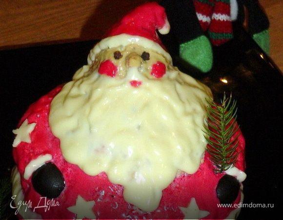 "Салат ""Милый Санта"""