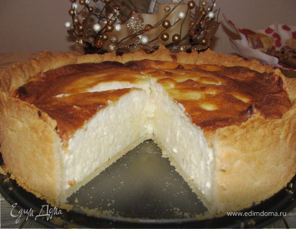Пирог на пахте и твороге