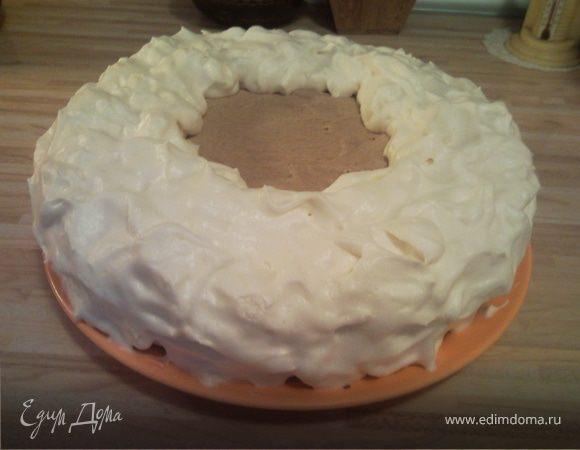 Торт «Заснеженная Прага»