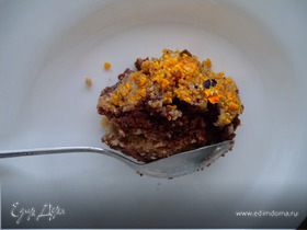 Жидкий торт (почти классический).Trifle cake