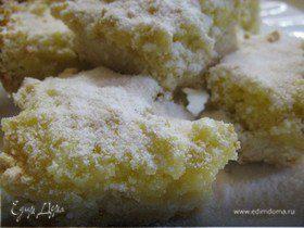 Печенье с лимонным ароматом