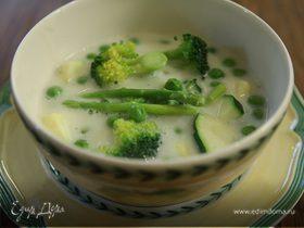 Весенний сливочный суп