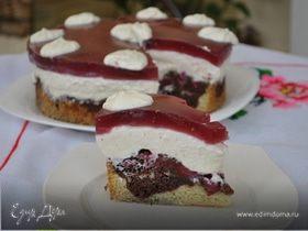 """Творожный торт """"Красная шапочка"""""""