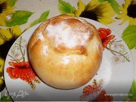 Яблочки с начинкой в тесте