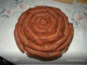 Бисквит на кефире шоколадный