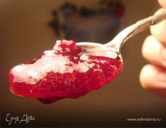 Джем-мармелад вишнево-малиновый