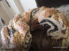 Орехово-маковая плетенка
