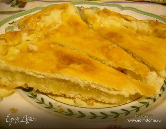 Пирог с лимоном.