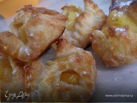 Конвертики с ананасом