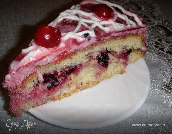 Торт « Ягодное наслаждение»
