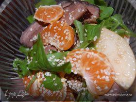 Салат-импровизация Mandarina&Duck