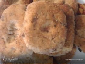Фасолевые котлетки с грибами