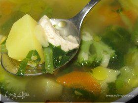 Весенний мегаполезный суп