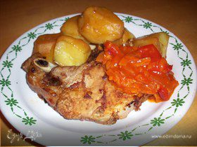 Блюдо для настоящих мужчин - мясо на ребрышке