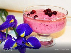 Десерт из брусники