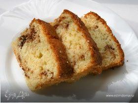 Ореховый кекс с трюфелем и корицей