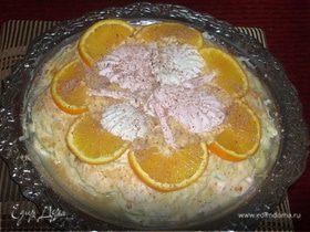 """Зефирный торт """"Блаженство"""""""