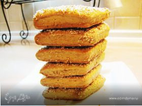 Ореховое печенье...на яблочном соке...