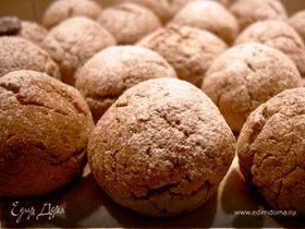 Печенье гречневое (с начинкой и без)