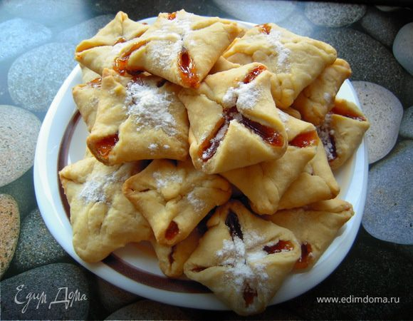 Рецепт печенья «Минутка» с повидлом