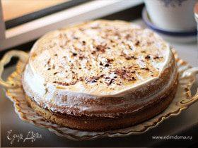 Легкий бисквитный тортик