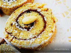 Рулет сладкий с орехо-цитрусовой ноткой