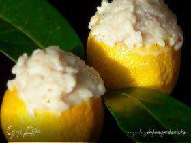 Лимонное ризотто- пасхальное