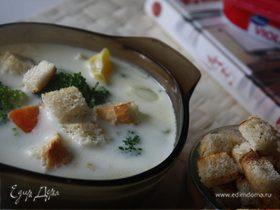Сливочный суп с брокколи