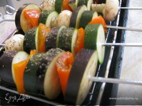 Зов природы или овощные шашлычки