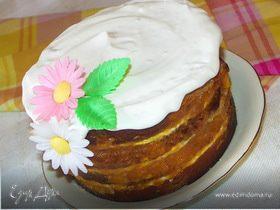 Тортик из кулича:)