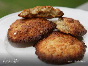 Бананово-кокосовые печеньица с ромом и корицей