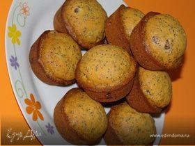 Маково-пряничные кексы