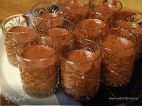 Шоколадно-сливочный мусс
